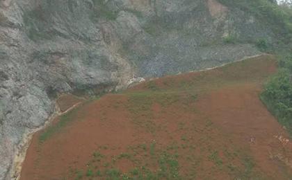 荒山植被恢复施工