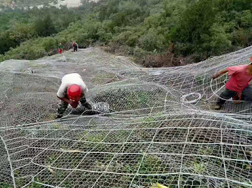 护坡防护网案例