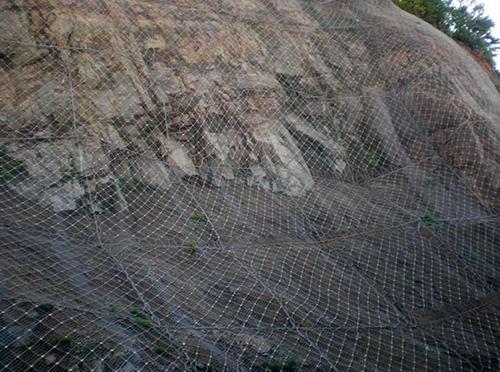 边坡主动防护网案例